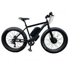 Електровелосипед передньопривідний E-motion Fatbike GT 48V 16Ah 750W Front чорний матовий