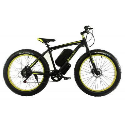 Електровелосипед E-motion Fatbike GT 48V 18Ah 1000W чорно-жовтий