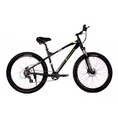 "Велосипед E-motion MTB F430 27,5""х 3"" / рама 19"" чёрно-зелёный"