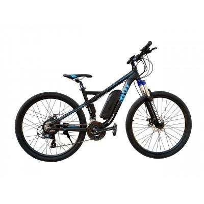 Електровелосипед RIOT 36V 12Ah 500W чорно-синій