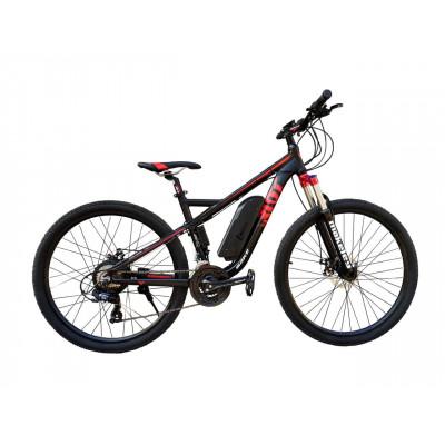 Электровелосипед RIOT 36V 12Ah 500W чёрно-красный
