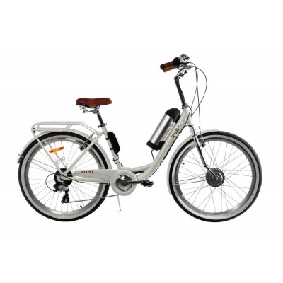 Электровелосипед женский RUBY 36V 10AH 350W передний привод белый