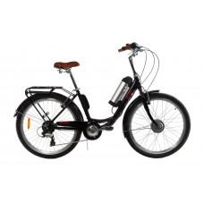 Электровелосипед женский RUBY 36V 10AH 350W передний привод черный