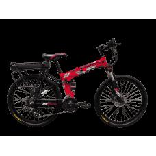 """Електровелосипед складаний Kerambit 36V 12Ah 500W 26"""" / рама 17"""" червоний"""