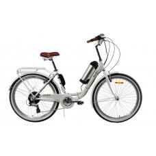 Электровелосипед женский Ruby 36V 10Ah 500W белый