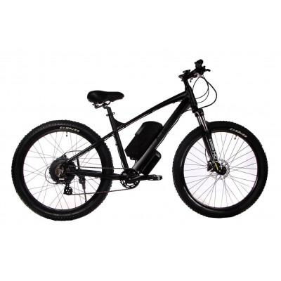 """Электровелосипед E-motion 48V 17,5Ah 700W / алюминиевая рама 19"""" чёрный матовый"""