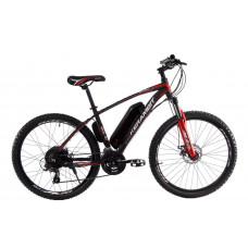 """Электровелосипед Kerambit 26"""", стальная рама 17"""", 36V 14Ah 500W чёрно-красный"""