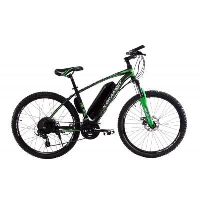 "Електровелосипед Kerambit 26"", сталева рама 17"", 36V 14Ah 500W чорно-зелений"