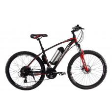 """Электровелосипед Kerambit 26"""", стальная рама 17"""", 36V 10Ah 500W чёрно-красный"""