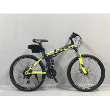 """Електровелосипед складаний Kerambit 36V 12Ah 500W 26"""" / рама сталь 17"""" чорно-жовтий"""