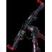 """Електровелосипед MAKE 36V 12Ah 500W рама 17""""/ 26"""" чорно-червоний"""