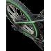 "Електровелосипед MAKE 36V 12Ah 500W рама 17""/ 26"" чорно-зелений"