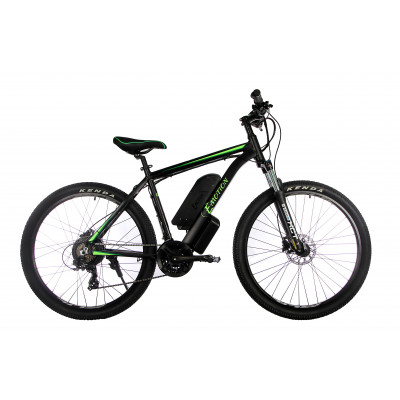 "Електровелосипед E-motion MTB 27,5 GT 48V 16Ah 500W / рама 19"" чорно-зелений"