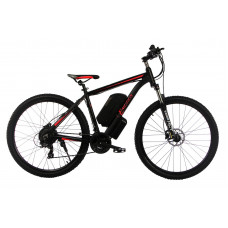 "Электровелосипед E-motion MTB 27,5 GT 48V 16Ah 500W / рама 19"" чёрно-красный"