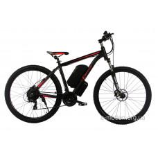 "Электровелосипед E-motion MTB 27,5 GT 36V 12Ah 500W / рама 19"" чёрно-красный"