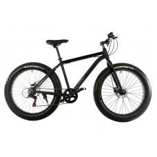 """Велосипед E-motion Fatbike GT 26"""" / рама 19"""" чёрный матовый"""