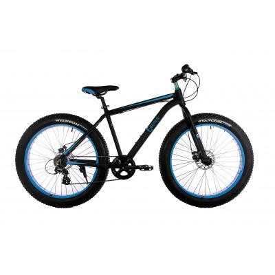 "Велосипед E-motion Fatbike GT 26"" / рама 19""чёрно-синий"