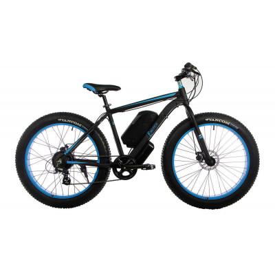 Електровелосипед Фэтбайк GT з мотором 1000w/батарея 48v 16ah чорно-синій