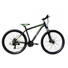 "Велосипед горный E-motion MTB29 GT / рама 19"" чёрно-зелёный"