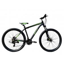 """Велосипед гірський E-motion MTB29 GT / рама 21"""" чорно-зелений"""