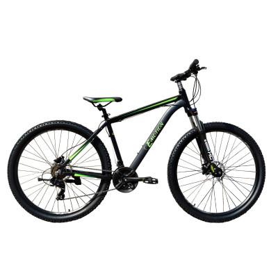 "Велосипед горный E-motion MTB29 GT / рама 21"" чёрно-зелёный"