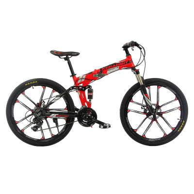 """Велосипед складаний на литих дисках Kerambit 26"""" / рама 17"""" червоний"""
