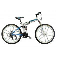 Складний велосипед на литих дисках