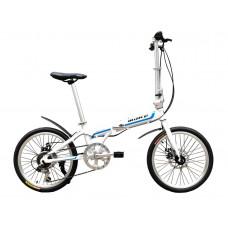 """Велосипед складаний Make bike 20 """"/ рама 17"""" білий"""