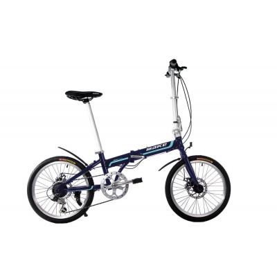 """Велосипед складаний Make bike 20 """"/ рама 17"""" синій"""