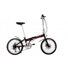 """Велосипед складной Make bike 20"""" / рама 17"""" чёрный"""