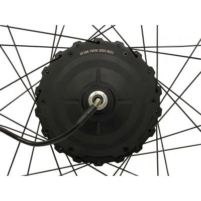 Мотор-колесо редукторне MXUS GDR-19R 48v 700W заднє, заспіцоване
