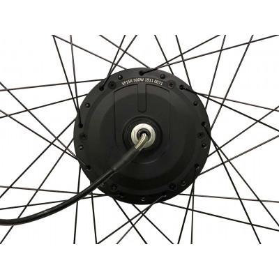 Заднє мотор-колесо MXUS XF15R 36V-48V 500W заспіцоване