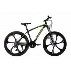 """Велосипед на литых дисках MTB2 26"""" зелёный"""