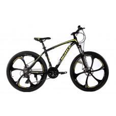 """Велосипед на литых дисках MTB2 26"""" жёлтый"""