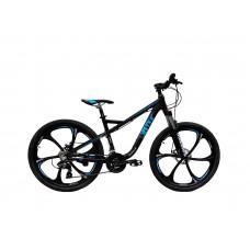 """Велосипед RIOT на литых дисках 26"""" / рама 18"""" чёрно-синий"""