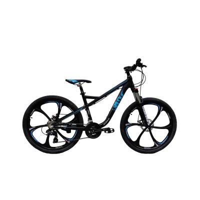 """Велосипед RIOT на литих дисках 26"""" / рама 18"""" чорно-синій"""