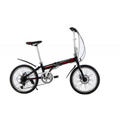 """Велосипед складаний Kerambit 20""""/ рама 17"""" чорно-червоний"""