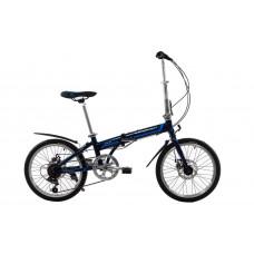 "Велосипед складной Kerambit 20"" / рама 17"" темно-синий"