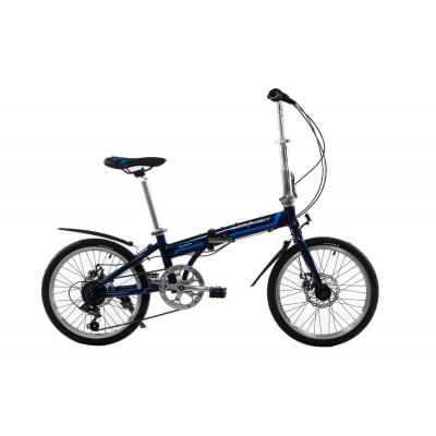 """Велосипед складаний Kerambit 20""""/ рама 17"""" темно-синій"""