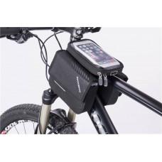 """Велосипедна сумка """"ROCKBROS"""" для установки на раму з двома відділеннями"""
