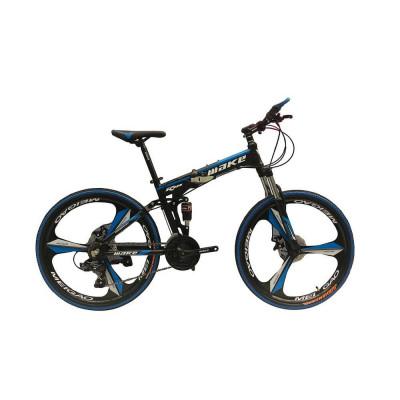 """Велосипед со складной рамой 26"""" синий"""