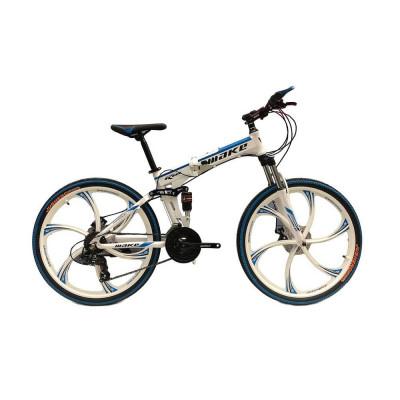 """Велосипед со складной рамой 26"""" белый"""