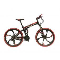 """Велосипед со складной рамой 26"""" красный"""