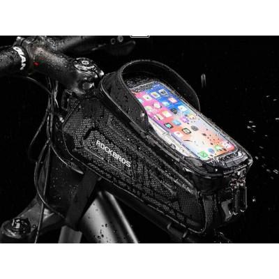 Сумка/утримувач смартфона Rockbros на раму велосипеда