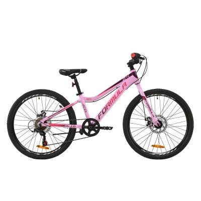 """Велосипед AL 24"""" Formula ACID 1.0 DD 2020 (рожево-червоно-фіолетовий)"""