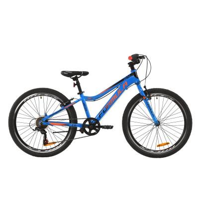 """Велосипед AL 24"""" Formula ACID 1.0 Vbr 2020 (синьо-чорно-помаранчевий)"""