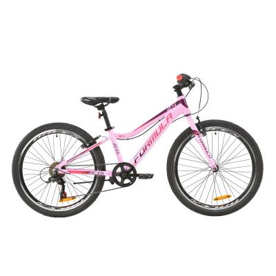 """Велосипед AL 24"""" Formula ACID 1.0 Vbr 2020 (розово-красно-фиолетовый)"""