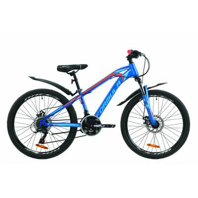"""Велосипед 24"""" Formula DAKAR 2020 (синьо-помаранчевий)"""