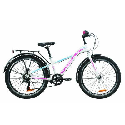 """Велосипед 24"""" Formula MASK 2020 (біло-блакитний з малиновим)"""