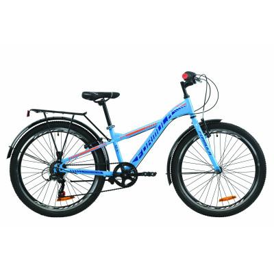 """Велосипед 24"""" Formula MASK 2020 (синьо-помаранчевий)"""